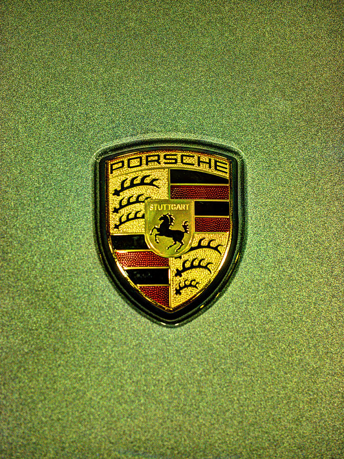 2014 porsche boxster s emblem photograph by john straton. Black Bedroom Furniture Sets. Home Design Ideas