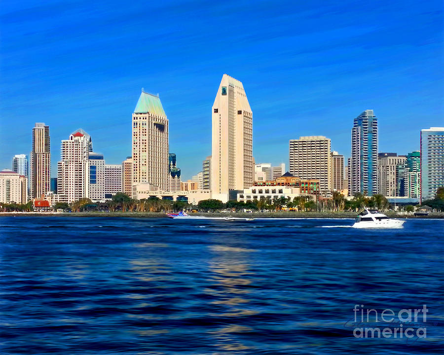 2014 San Diego Skyline by Glenn McNary
