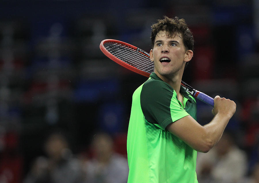 2014 Shanghai Rolex Masters 1000 - Day 1 Photograph by Zhong Zhi
