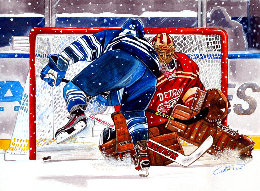 Winter Classic Painting - 2014 Winter Classic by Dave Olsen
