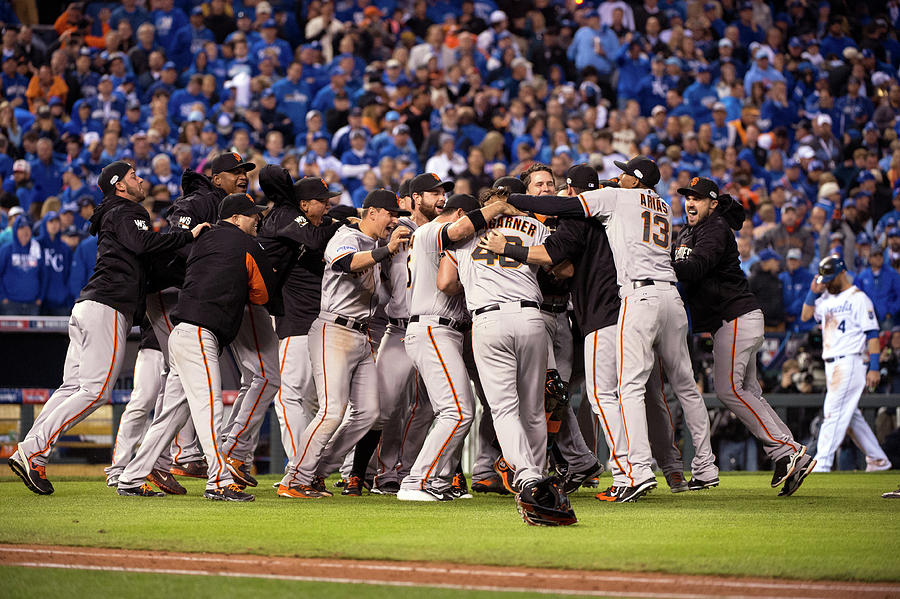 2014 World Series Game 7 San Francisco Photograph by Ron Vesely