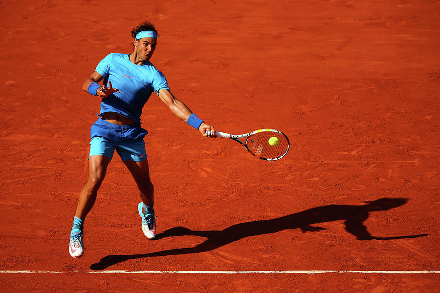 2015 French Open - Day Eleven Photograph by Clive Brunskill