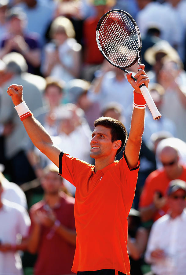 2015 French Open - Day Eleven Photograph by Julian Finney