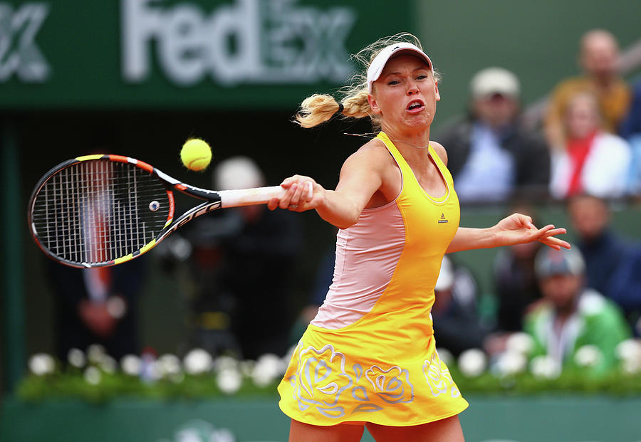 2015 French Open - Day Five Photograph by Clive Mason