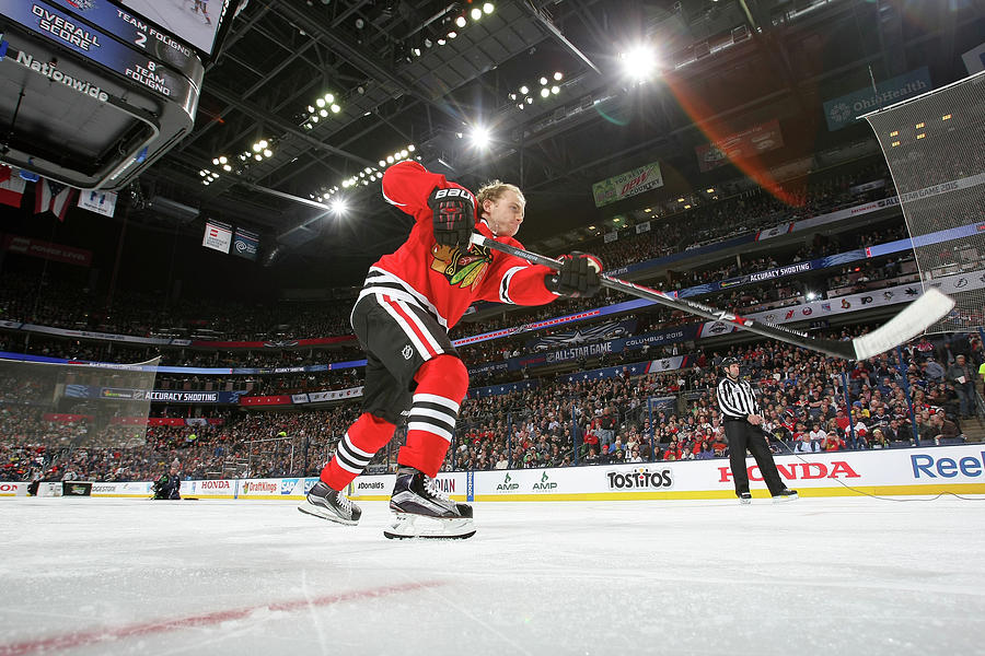 2015 Honda Nhl All-star Skills Photograph by Dave Sandford