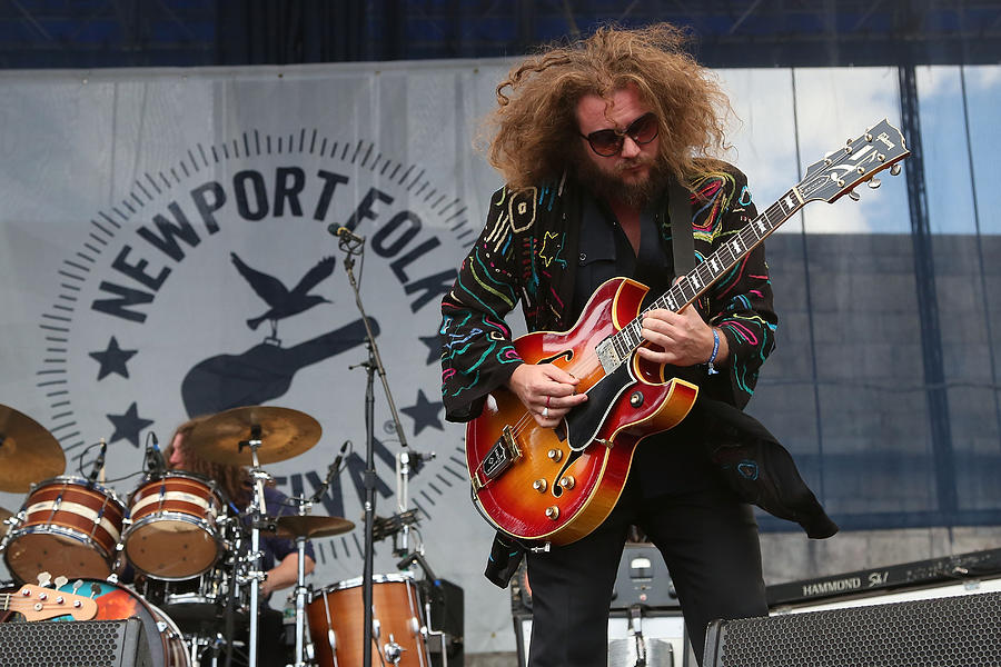 2015 Newport Folk Festival - Day 1 Photograph by Taylor Hill