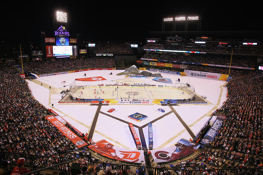 2016 Coors Light Stadium Series - Photograph by Justin Edmonds