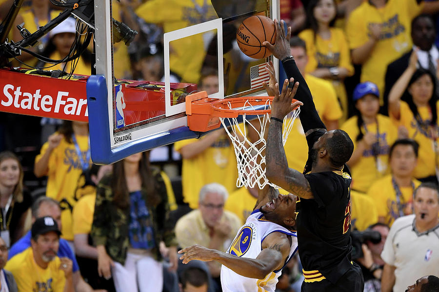 2016 Nba Finals - Game Seven Photograph by Thearon W. Henderson