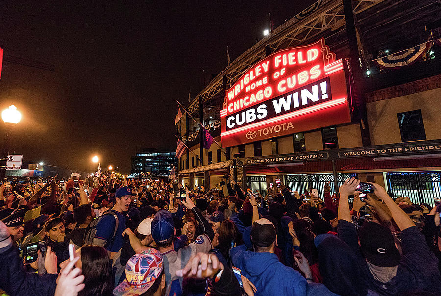 2016 World Series  - Chicago Cubs V Photograph by Matt Kosterman