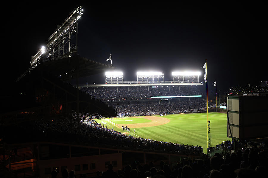 2016 World Series  - Cleveland Indians Photograph by Rob Tringali