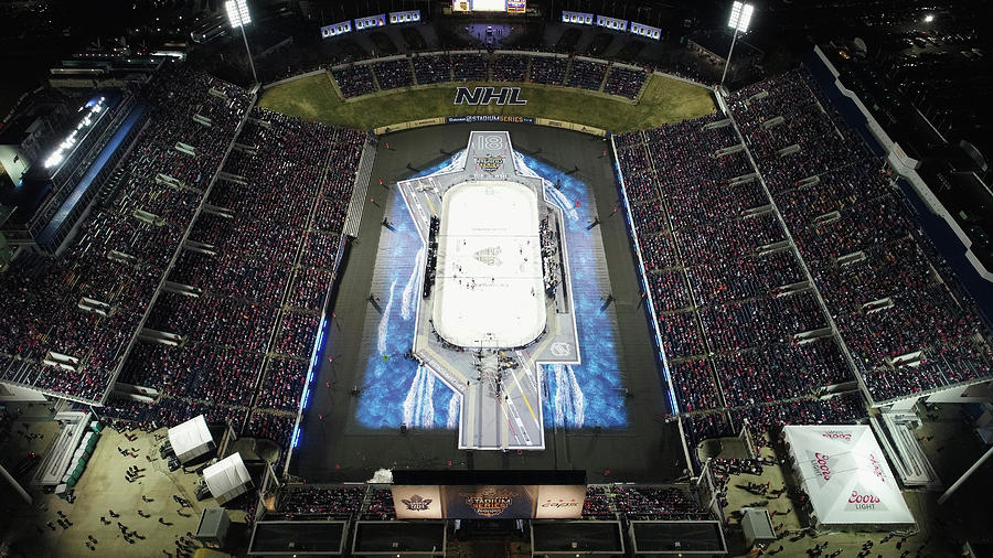 2018 Coors Light Nhl Stadium Series - Photograph by Nicole Abbett