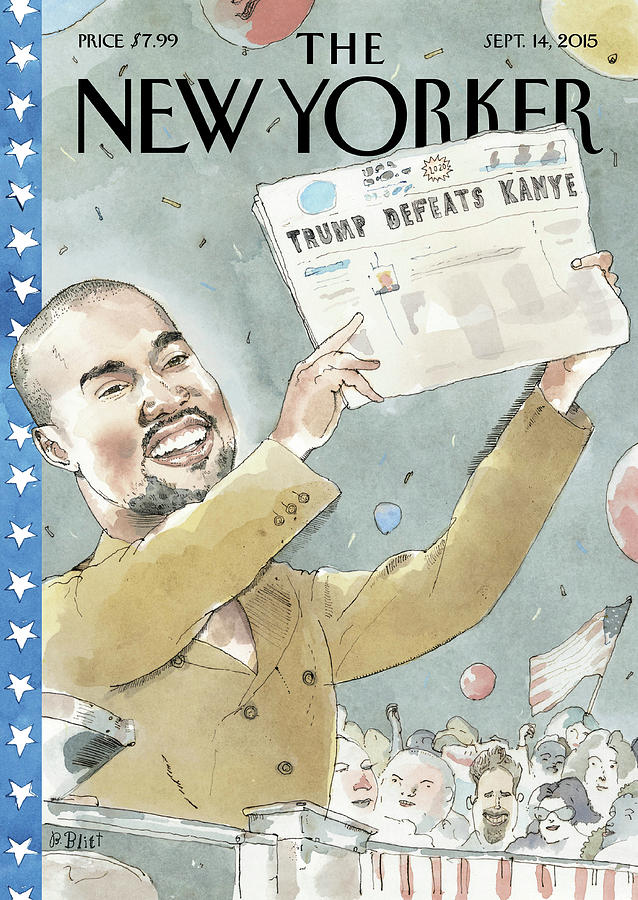 2020 Vision Painting by Barry Blitt