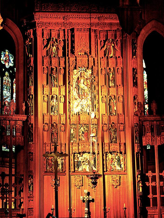Church Wood Art Photograph