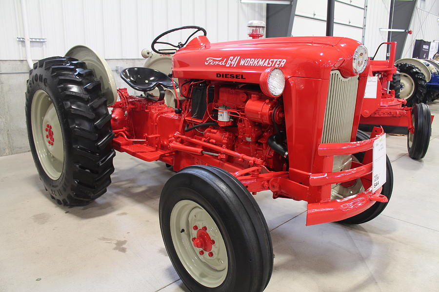 64 Ford 601 Tractor : Ford diesel workmaster photograph by nelson skinner