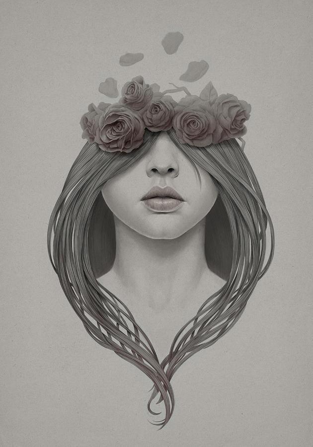 Woman Digital Art - 214 by Diego Fernandez