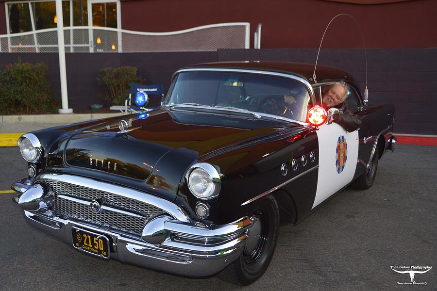 Police Photograph - 2150 To Headquarters by Tommy Anderson