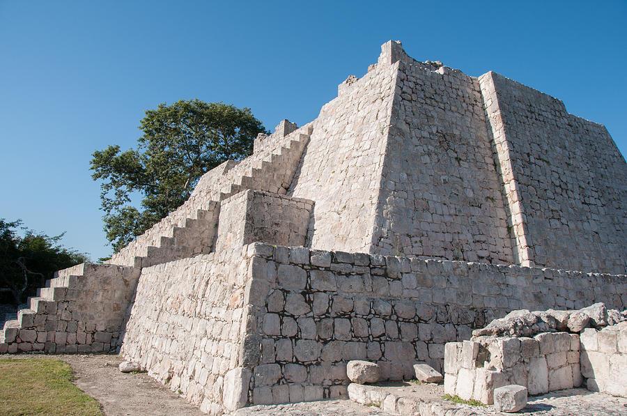 Edzna In Campeche Digital Art