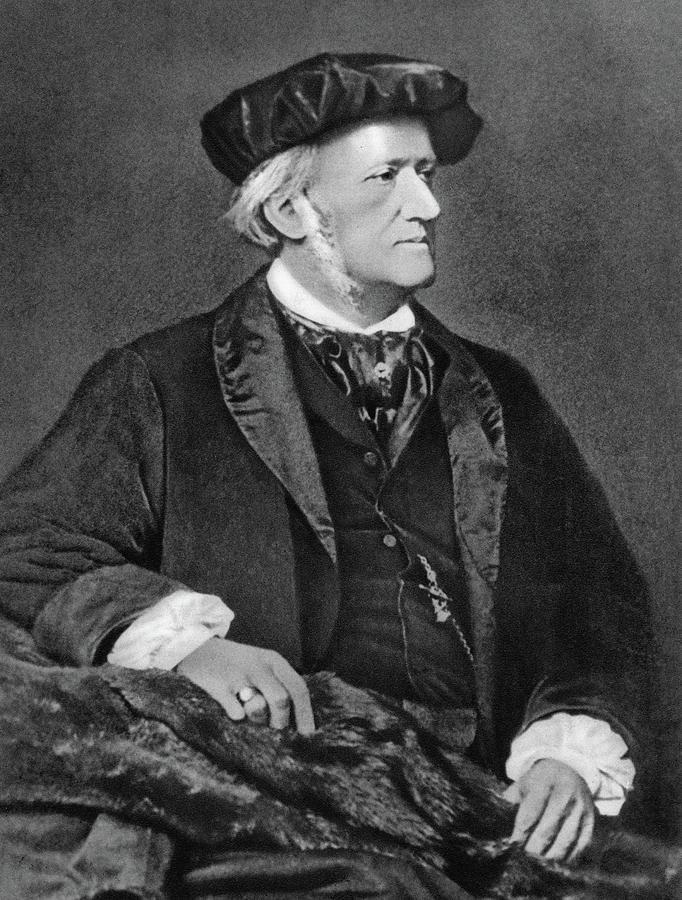 1870 Photograph - Richard Wagner (1813-1883) by Granger
