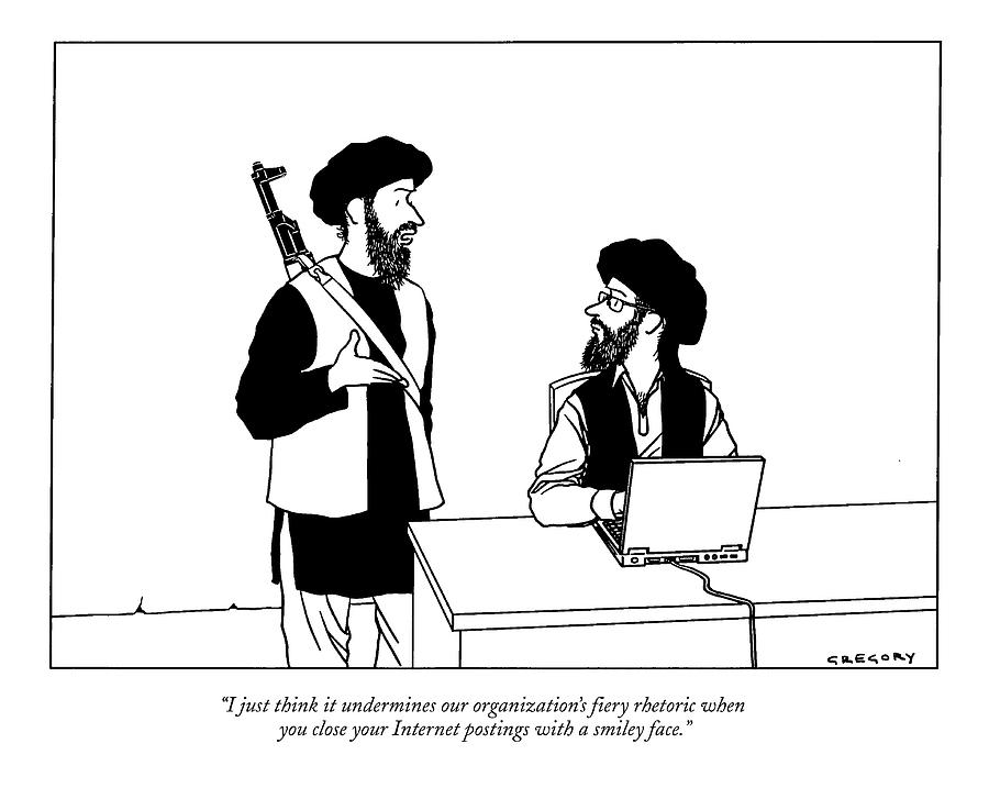 I Just Think It Undermines Our Organizations Drawing by Alex Gregory