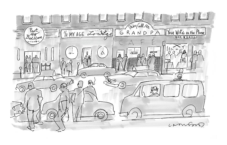 New Yorker March 31st, 2008 Drawing by Michael Crawford