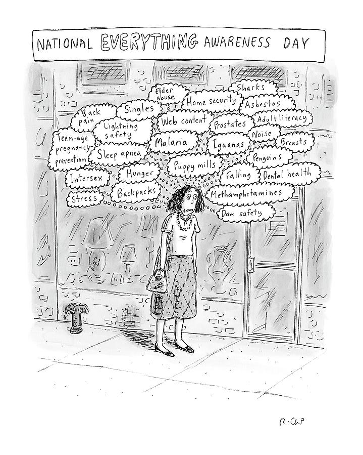 New Yorker September 3rd, 2007 Drawing by Roz Chast