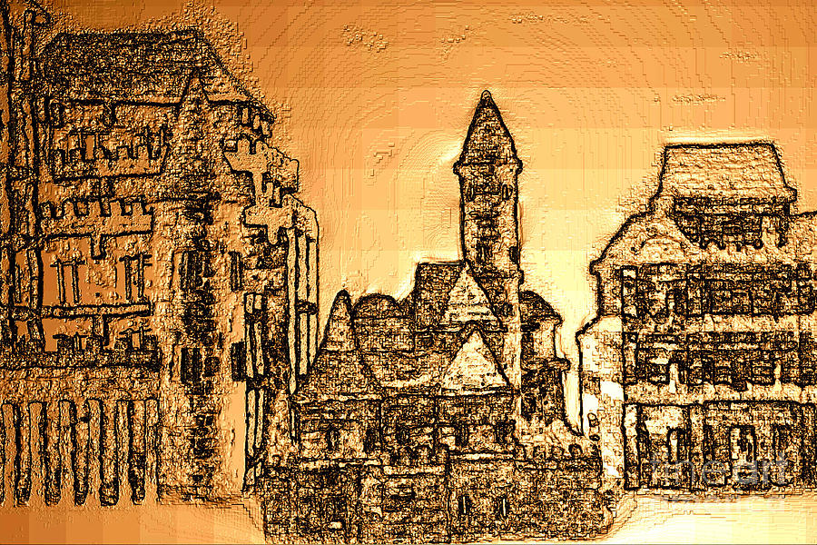 221220131355 Digital Art by Oleg Trifonov