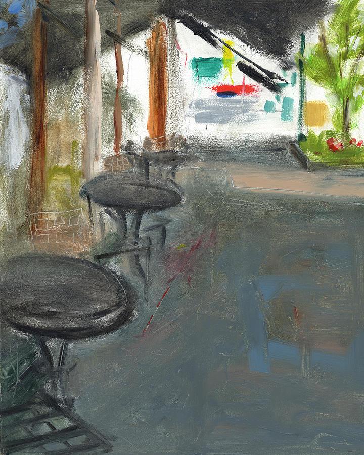 Washington Road Painting - Rcnpaintings.com by Chris N Rohrbach