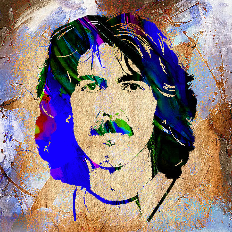 George Harrison Collection Mixed Media by Marvin Blaine
