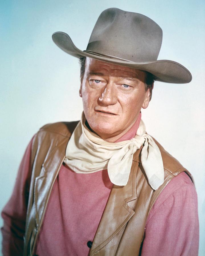 John Wayne Photograph - John Wayne by Silver Screen