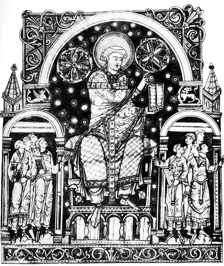 12th Century Painting - St by Granger