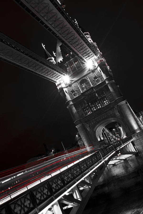 Tower Bridge Photograph - Tower Bridge London by David Pyatt