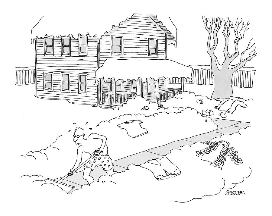 New Yorker March 6th, 2006 Drawing by Jack Ziegler