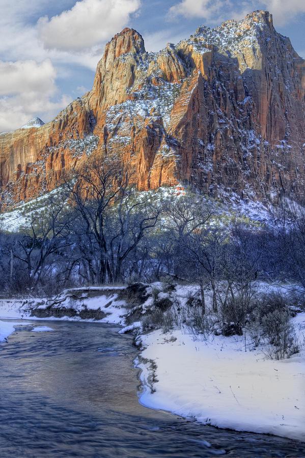 Zion National Park Photograph - Zion National Park Utah by Utah Images