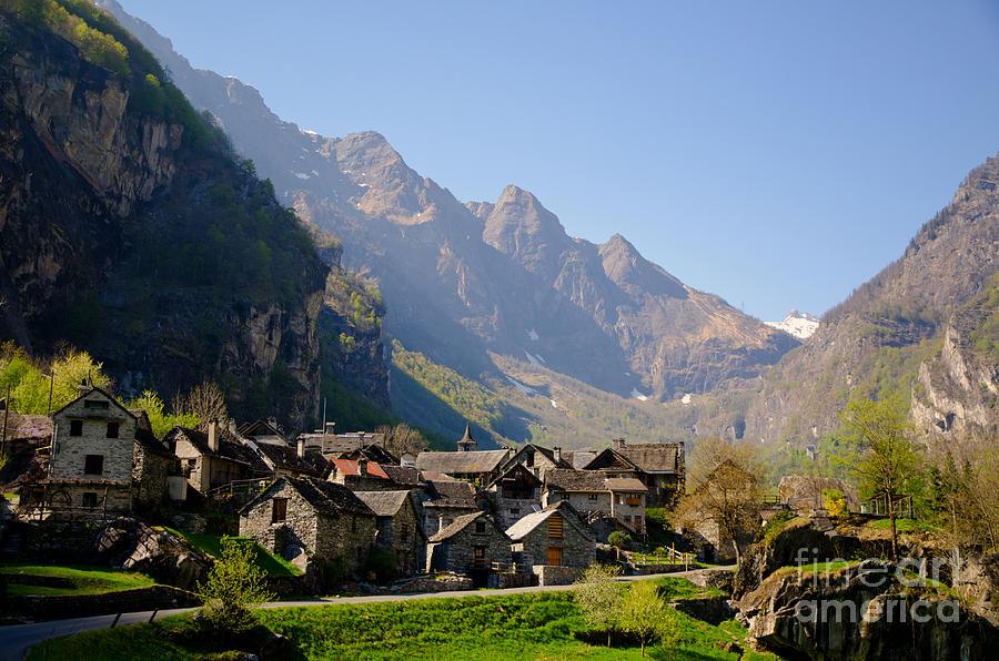 Alpine Village Photograph By Mats Silvan