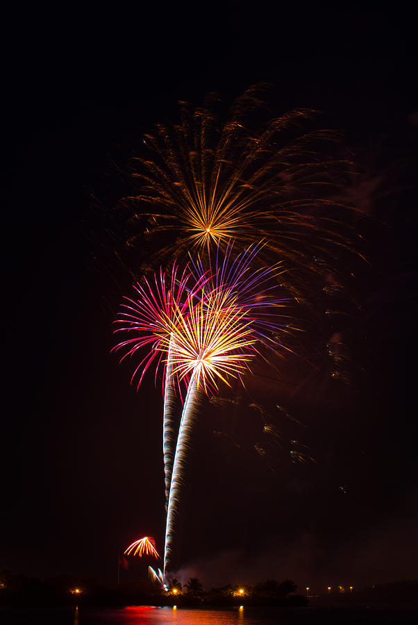 4th Of July Photograph - Fireworks by Adrian Arceci