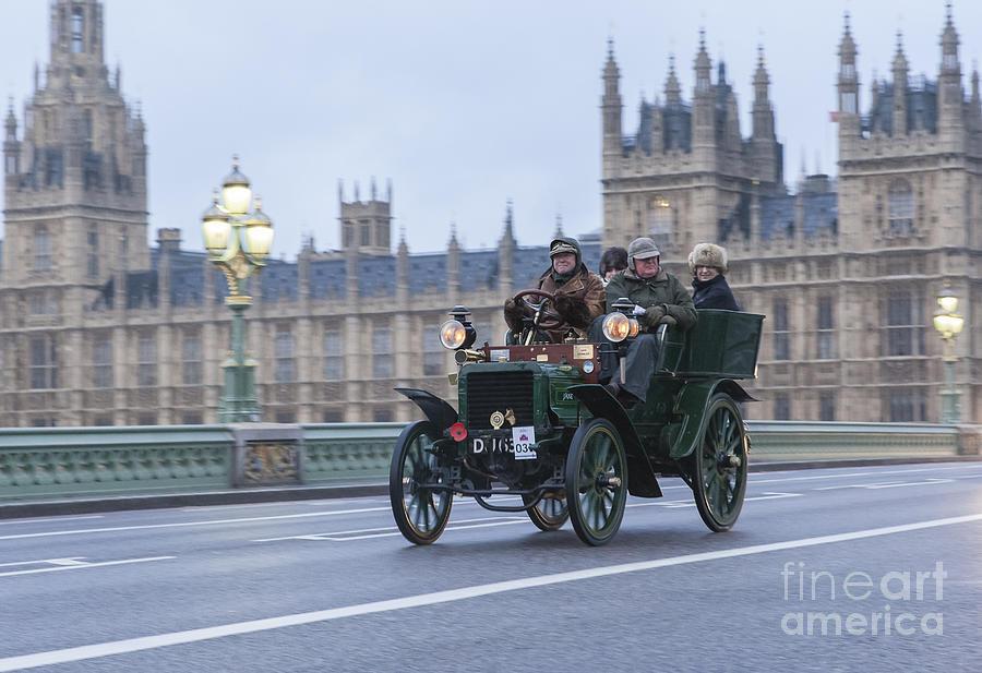 London To Brighton Veteran Car Rally Photograph by Philip Pound
