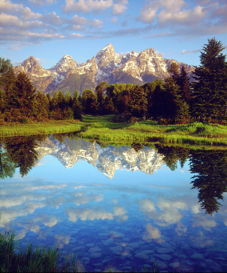 America Photograph - Usa, Wyoming, Grand Teton National Park 24 by Jaynes Gallery