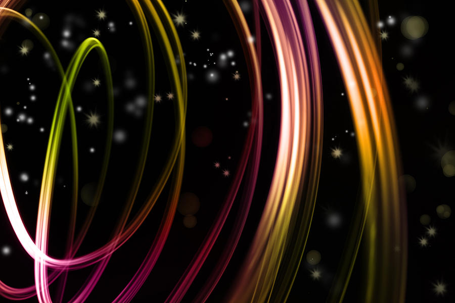Color Photograph - Abstract Background by Les Cunliffe