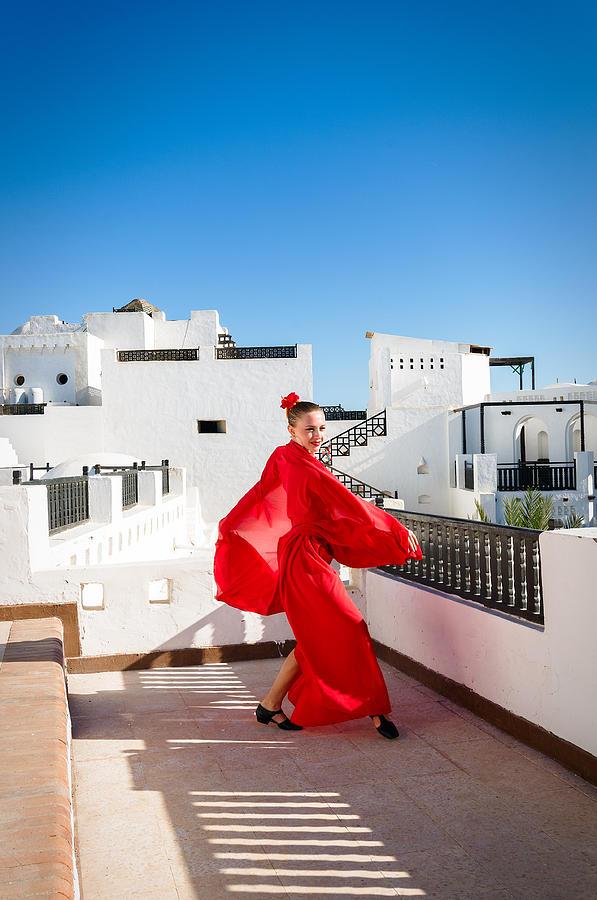 Flamenco Dancer Photograph