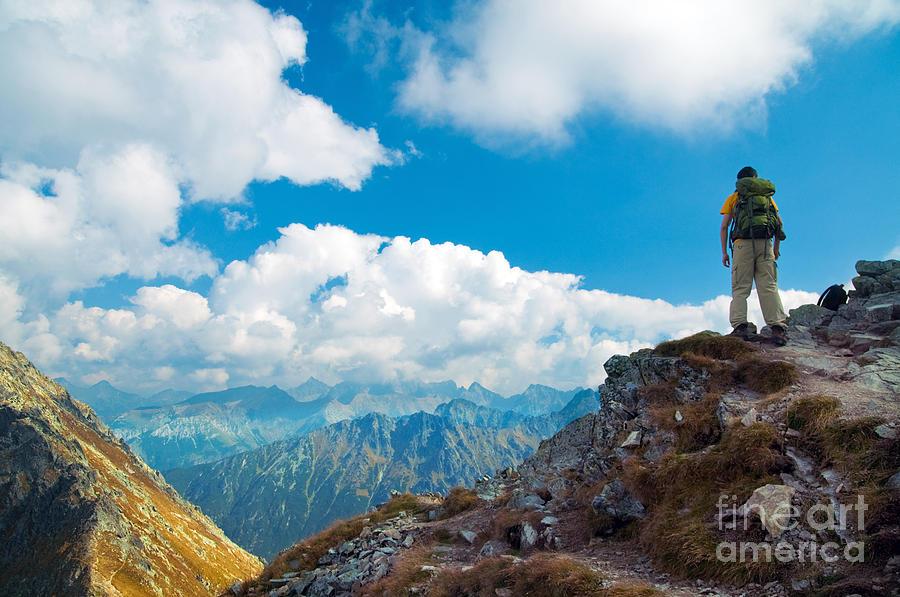 Beautiful Photograph - Mountains Landscape by Michal Bednarek