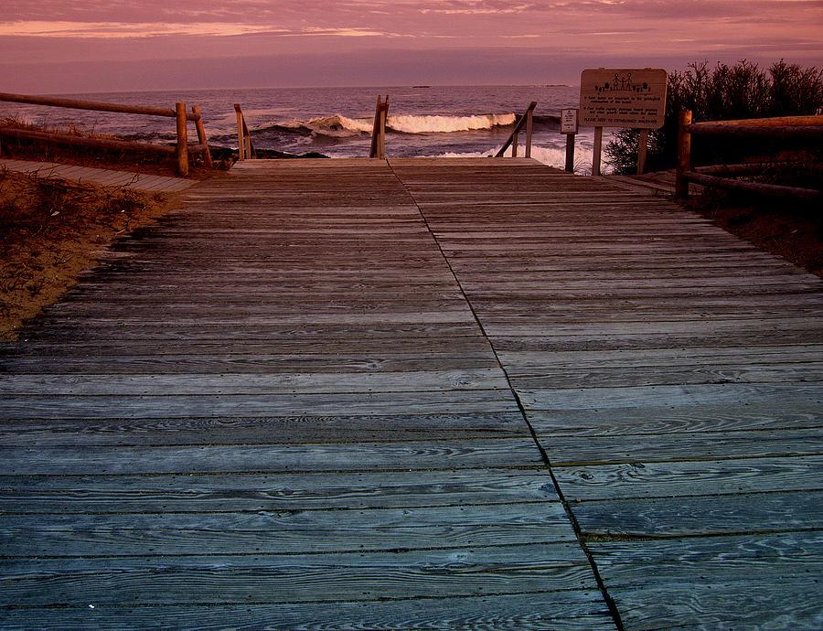 Seascape Photograph - p by Reid Albee