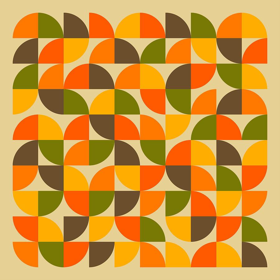Modern Digital Art - 25 Percent #2 by Jazzberry Blue
