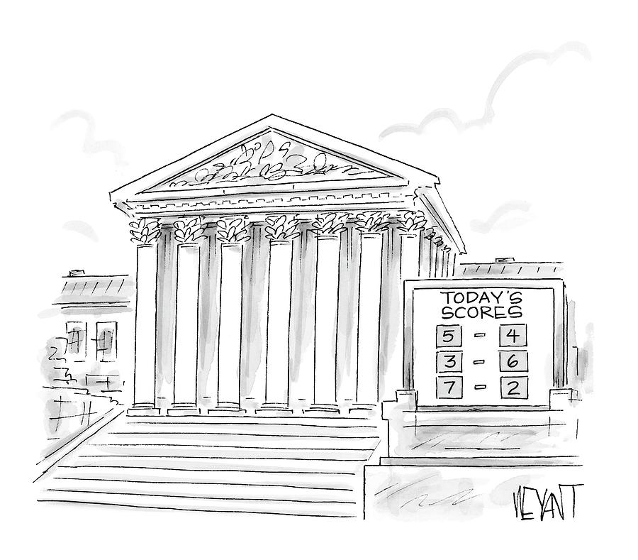 New Yorker January 22nd, 2007 Drawing by Christopher Weyant