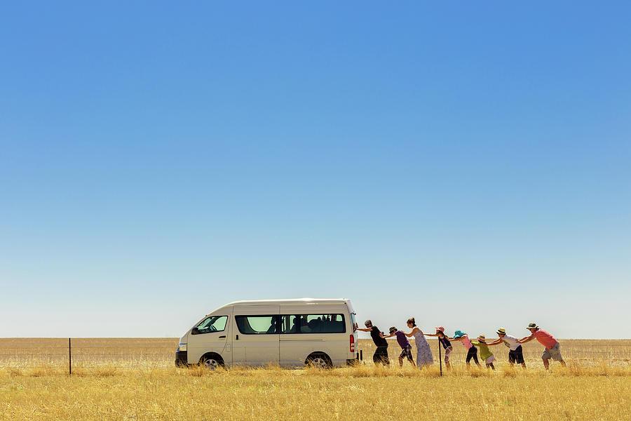 Australia Photograph - 2.500 Km Around Australia by Gloria Salgado Gispert