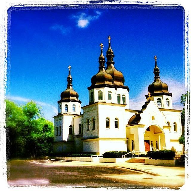 Ukraine Photograph - Ukranian Orthodox Church by Heidi Hermes