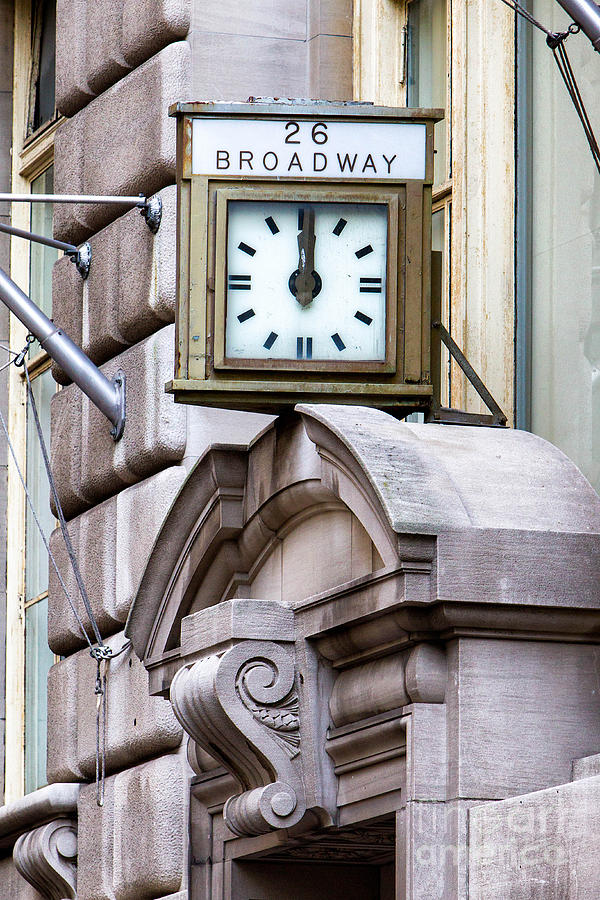 Manhattan Photograph - 26 Broadway by Jerry Fornarotto