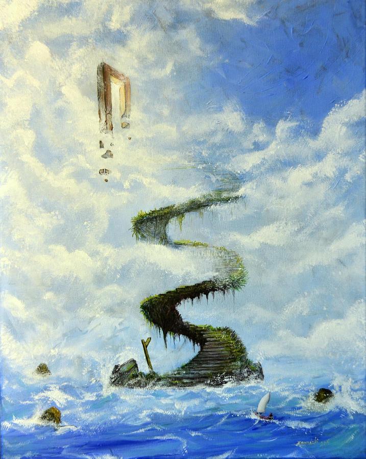 Painting Painting - No Title  by Mariusz Zawadzki