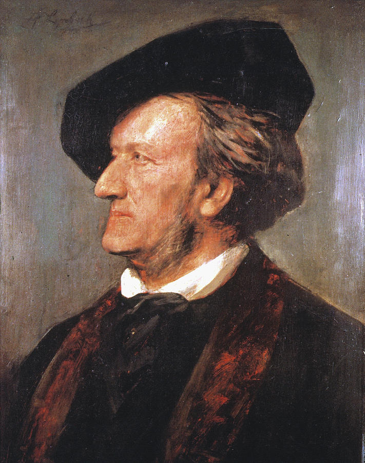 1871 Painting - Richard Wagner (1813-1883) by Granger