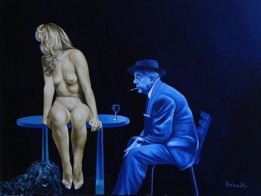 Nude Painting - Sans Paroles by Roland Delcol