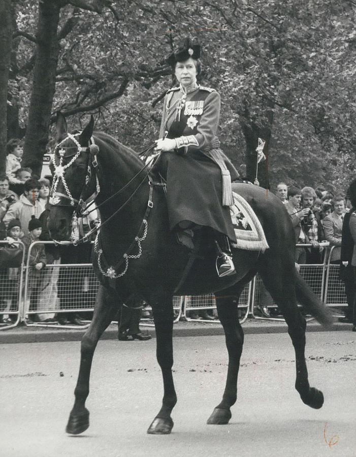 Retro Photograph - Trooping The Colour Ceremony by Retro Images Archive